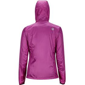 Marmot W's Ether DriClime Hoody Jacket Neon Berry